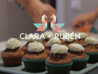 Clara + Rubén .:. Carrot cupcakes + WashiTape